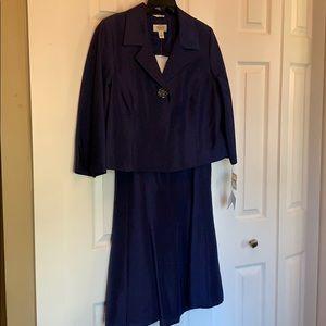 Talbots Petites 2 Piece Silk dress